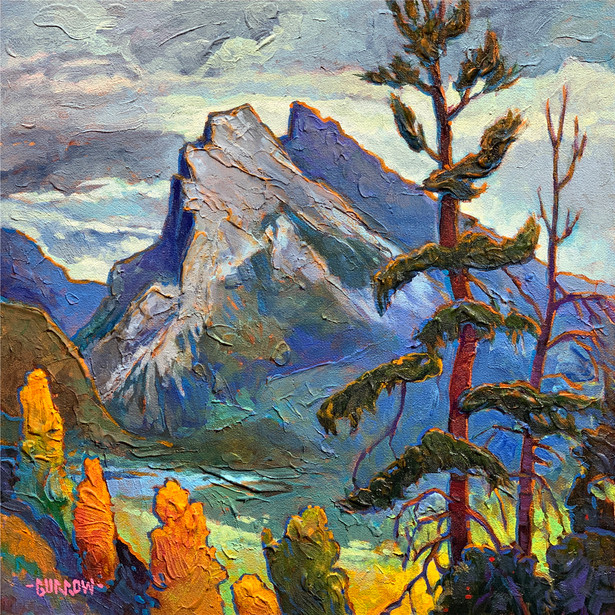 Mount Rundle Fall