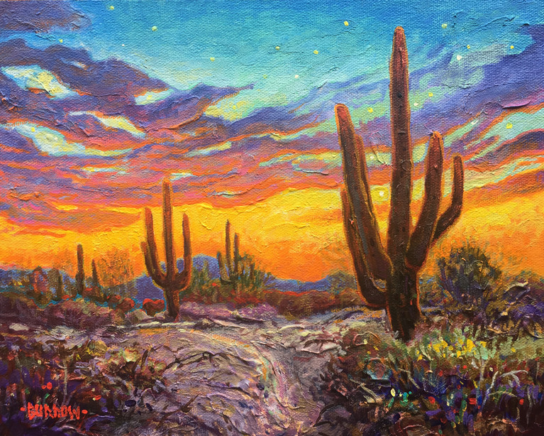 """Primary Pattern Sunset"""