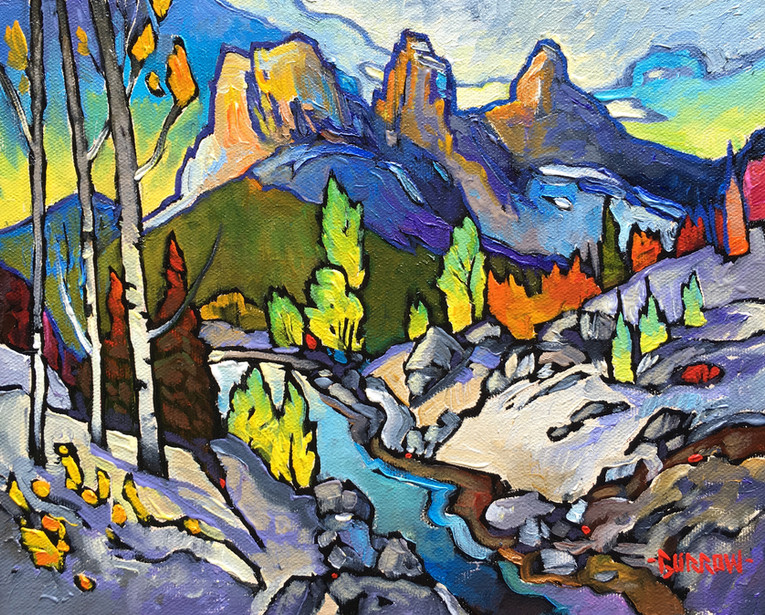 """""""Cougar Creek Canmore"""""""