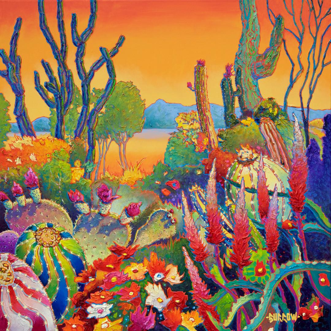 """Rainbow Cactus"""