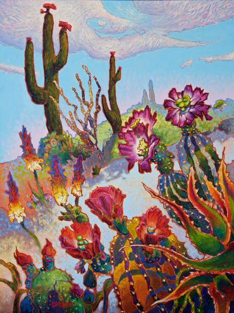 Cactus Combo1 (left diptich)