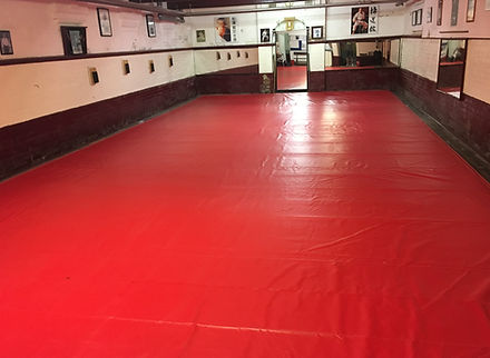 Leicester Karate Club Dojo Floor