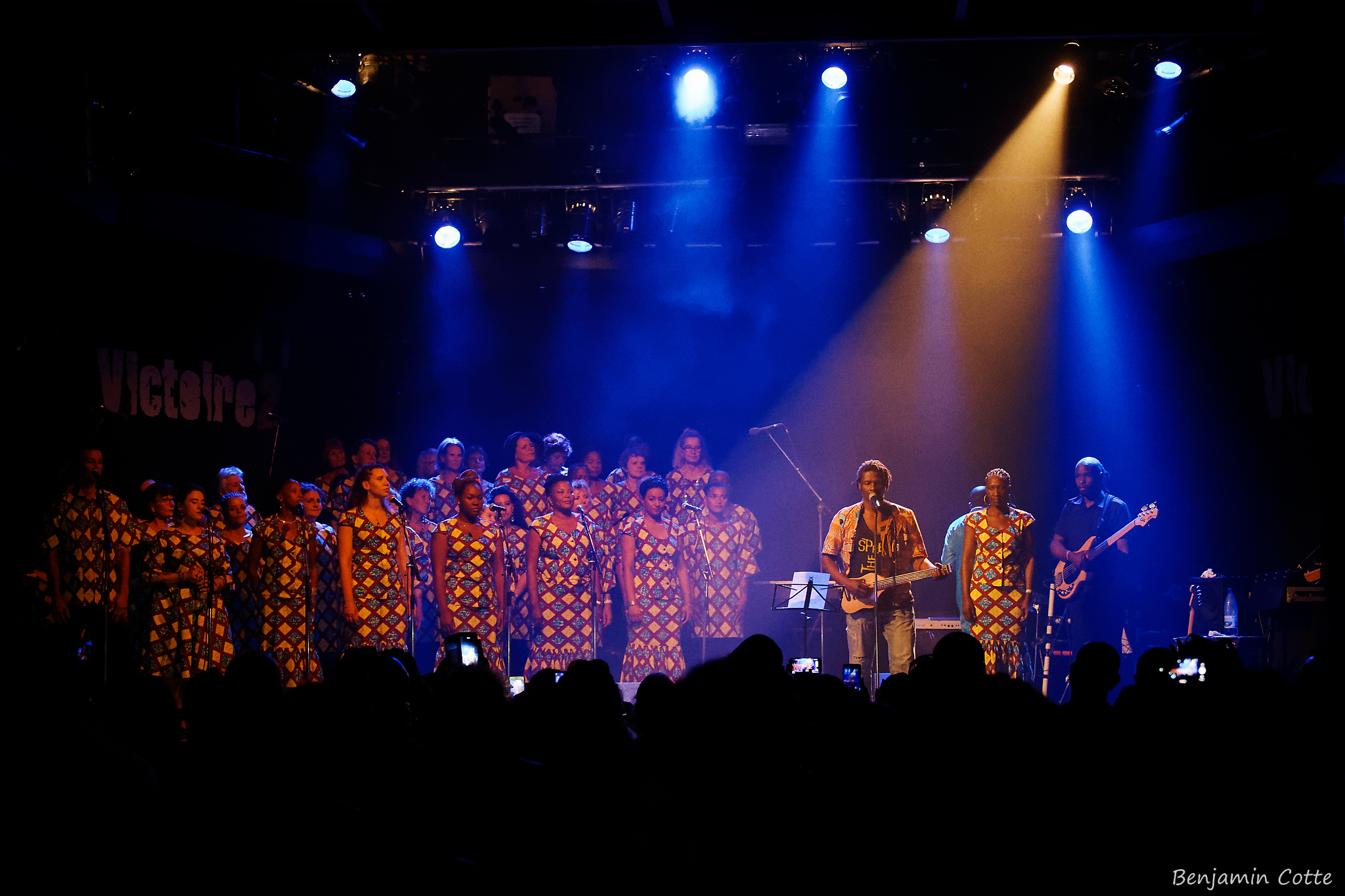 Emmanuel Djob et notre chœur