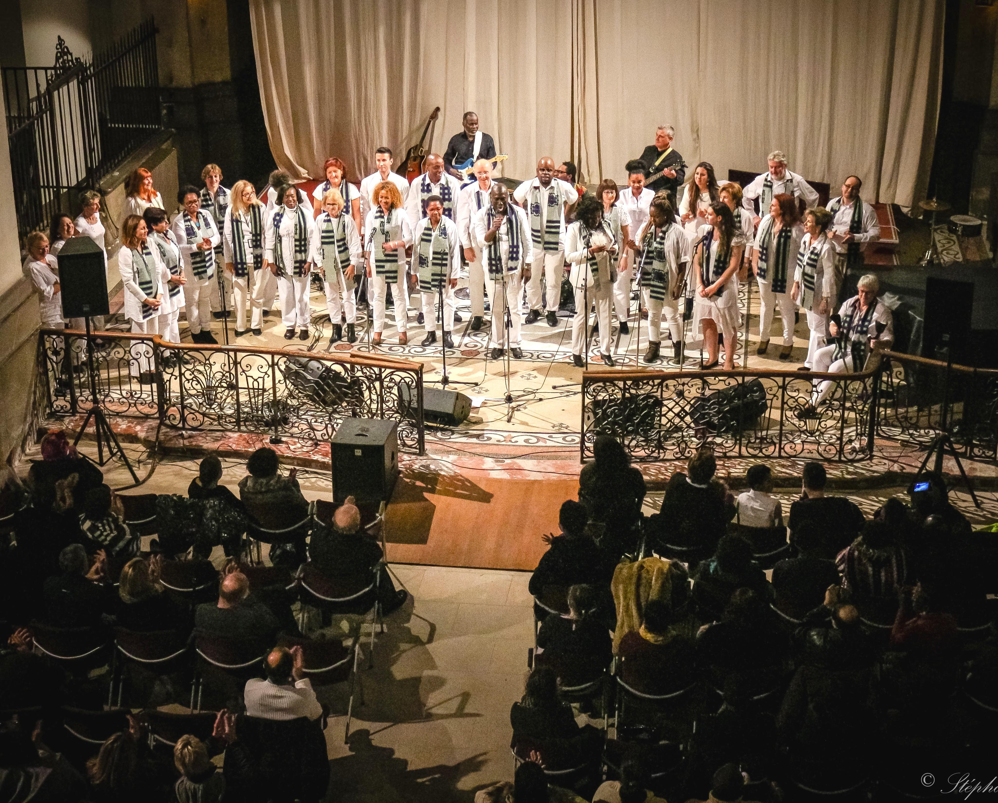 La présentation de la chorale