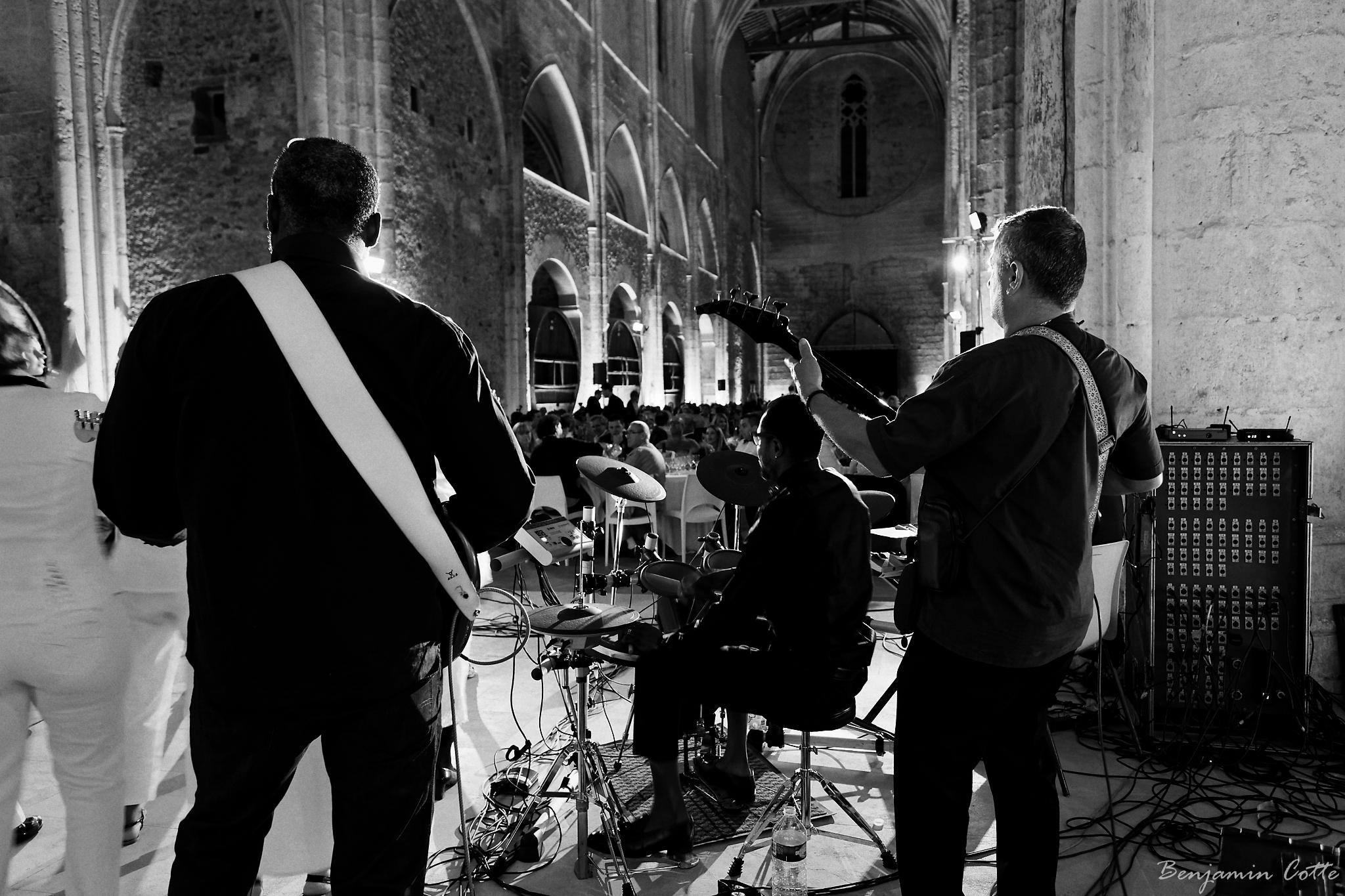 Les musiciens face à leur public