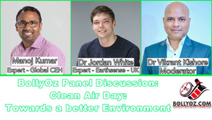 Air Pollution via fine particulate matters- a discussion with Manoj Kumar & Dr Jordan White