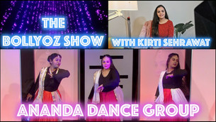 Ananda Dance Group - Performance and Interview!