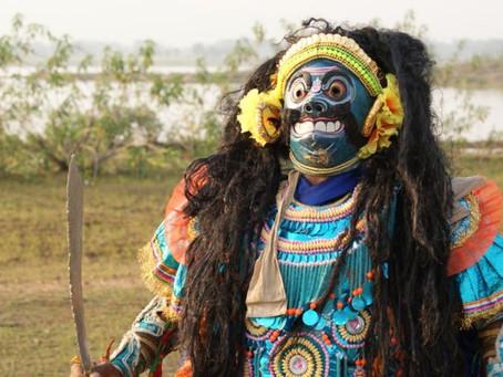 Rasa aesthetics of the Purulia Chhau Dance Masks - A conference presentation by Vikrant & Dhvani!