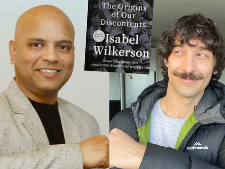 Dr Vikrant Kishore features in George Dimarelos' podcast series Book(ish)