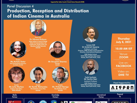Australian filmmakers discuss the status of Indian Cinema in Australia at ICAN-4 - Policy Times
