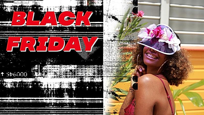 BLACK FRIDAY WONDERFLOWER SUN HAT