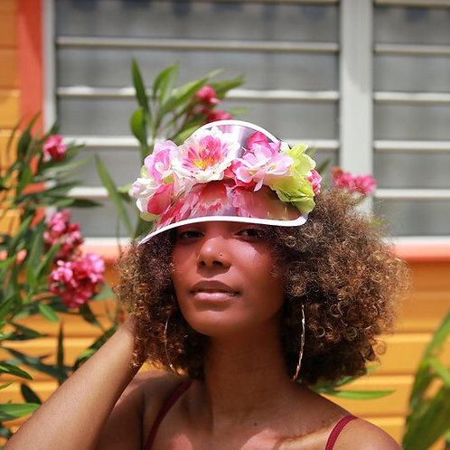 PINK SUN HAT FLOWERS