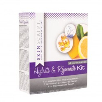 SKIN SCRIPT - HYDRATE AND REJUVENATE KIT