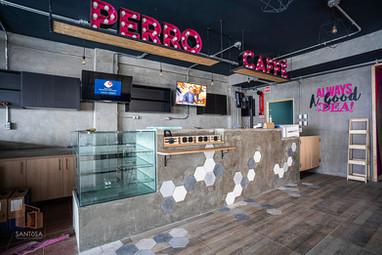Mobiliario Perro Caffé UMAD, Cholula.