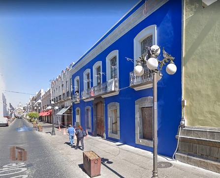 Hotel 6 Ote, Centro historico, Puebla, México.