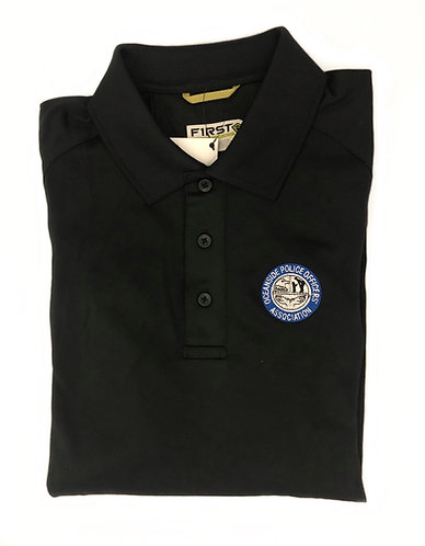 Mens First Tactical Polo