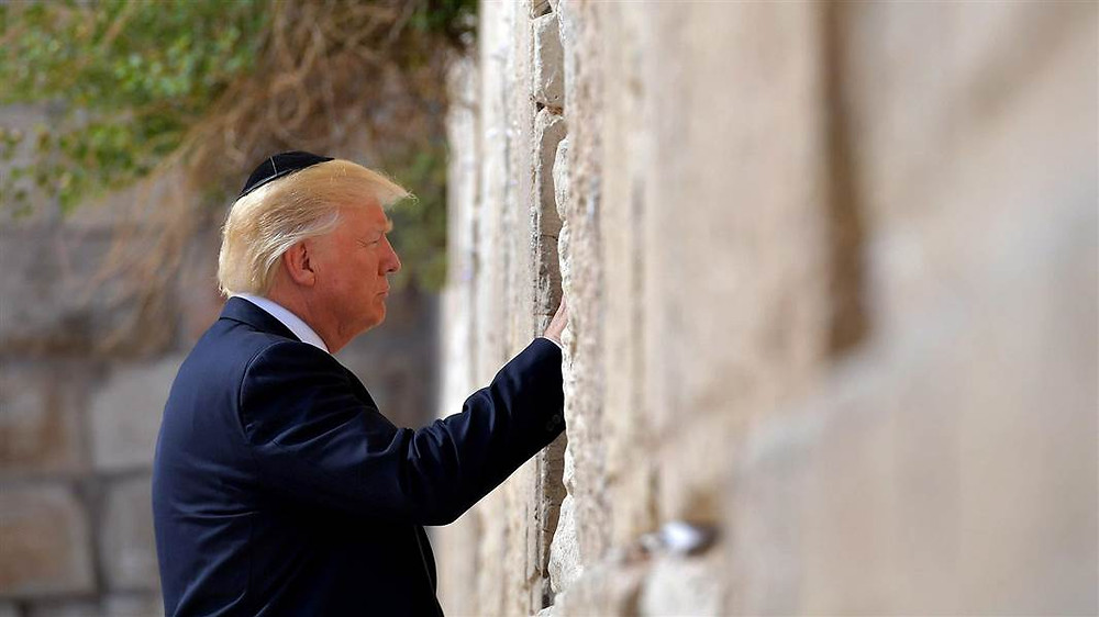 Trump at Western Wall