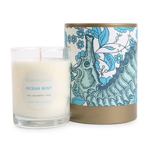 Ocean Mint Soy Candle