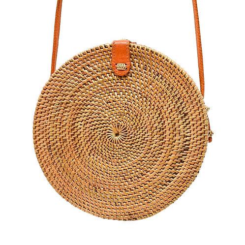 Circular Rattan Bali Bag
