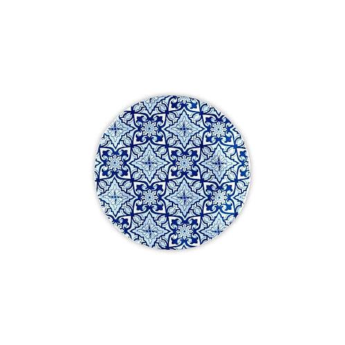 "Talavera Azul 5.5"" Canapé Plate"