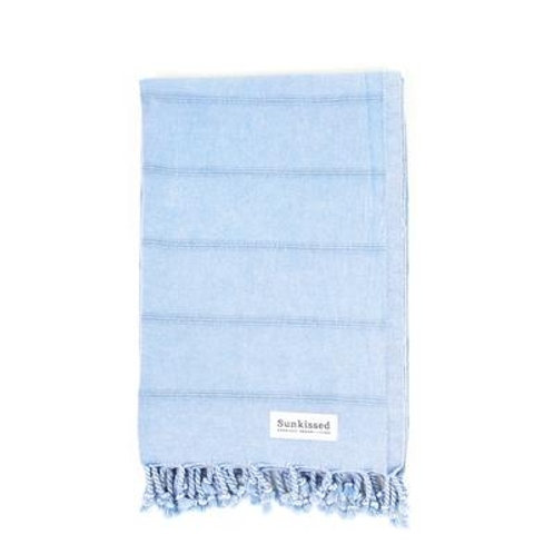 Stonewashed Mykonos Turkish Cotton Sand Free Beach Towel