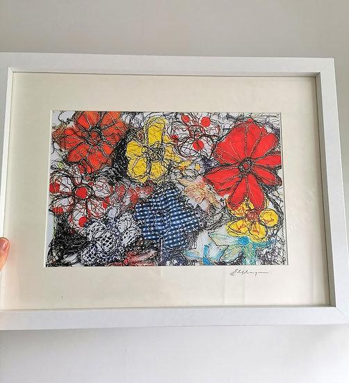 Enchanted Bloom Framed Print
