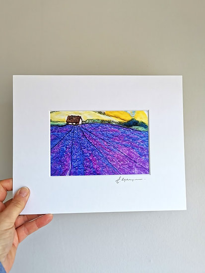 A Lovely Day Out Mounted Print