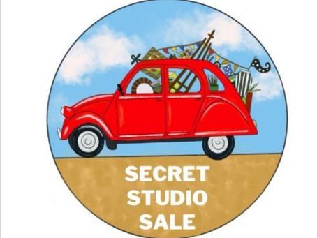 The Secret Studio Sale