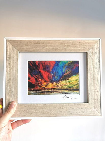 The Northern Lights Are In My Eyes Framed Print