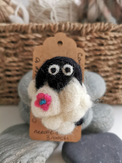 Connie The Needle Felt Brooch