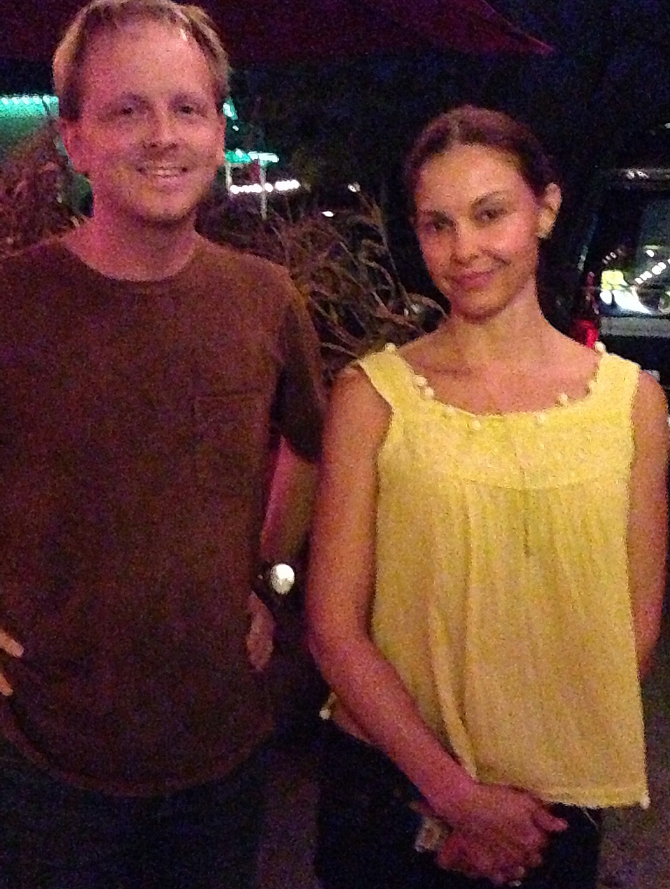 Ed and Ashley Judd