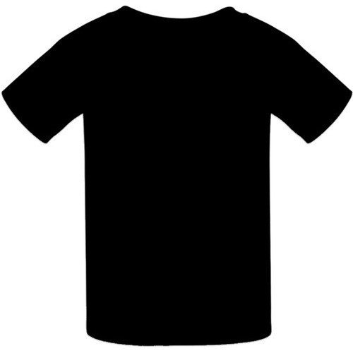 Black, Fitted, Short-Sleeved T-Shirt