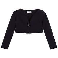 Black Bolero Sweater