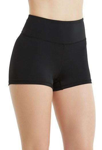 Black Cartwheel Shorts