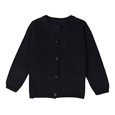 Black Fitted Cardigan