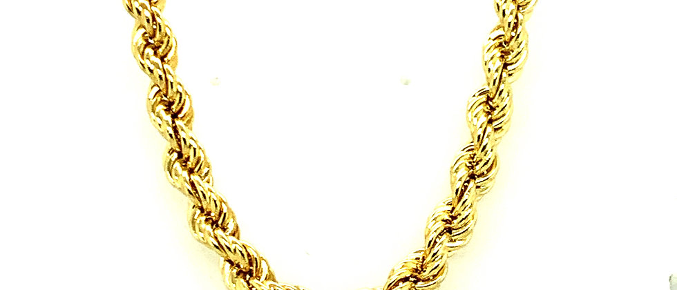 "18 KT ""ROPE"" CHAIN"