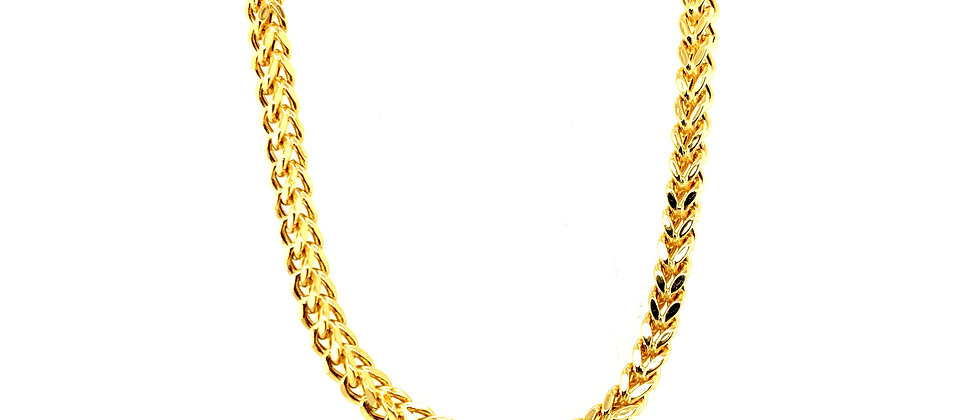 "18 KT gold ""FRANCO"" chain M"