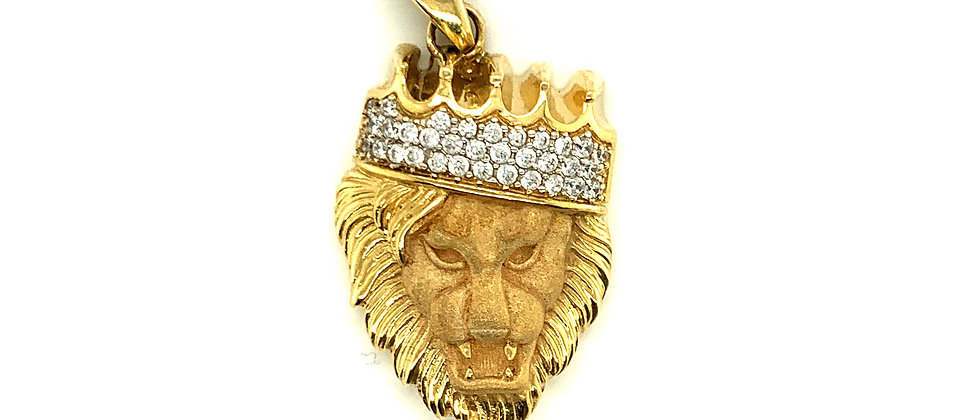 KING OF THE LIONS PENDANT