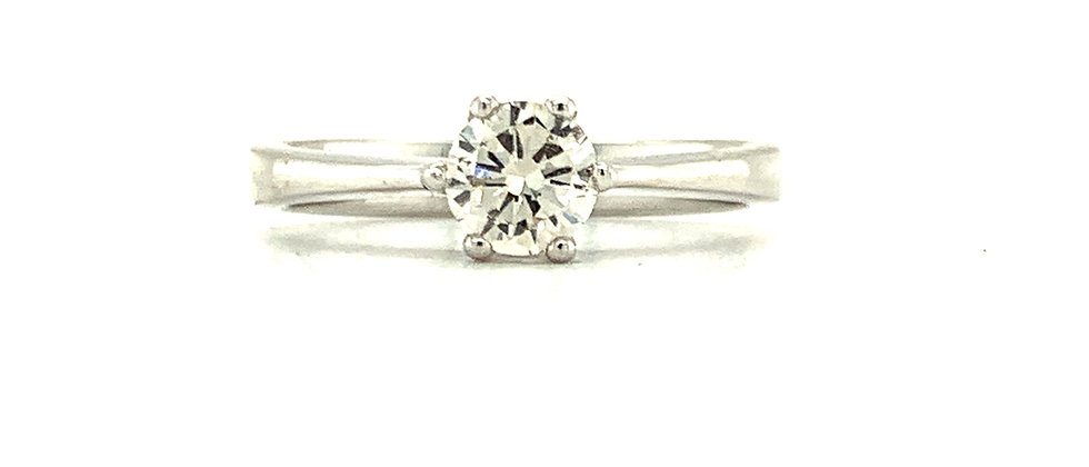 SINGLE DIAMOND SOLITAIRE 6 PRONG
