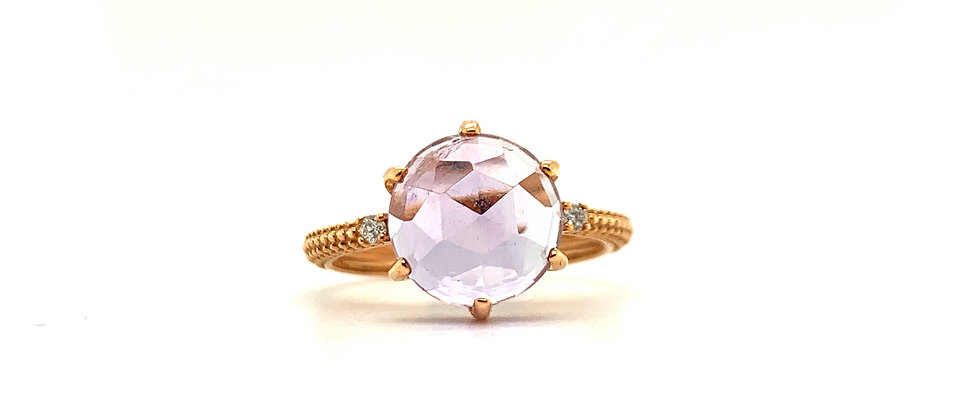 18 KT 6 PRONG RING