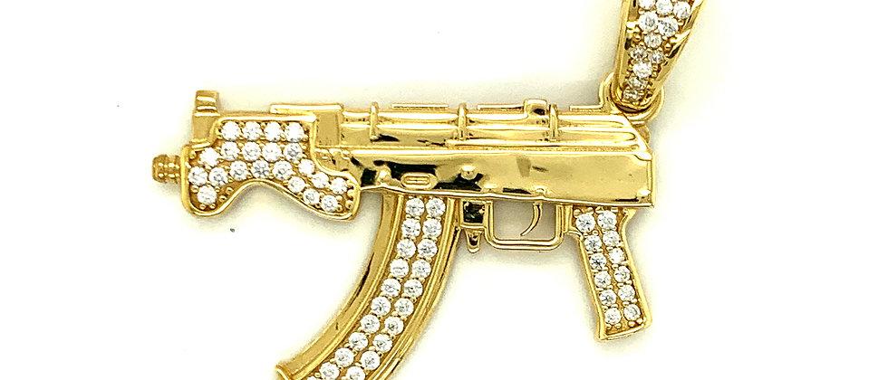 MP5 SMALL MACHINE GUN