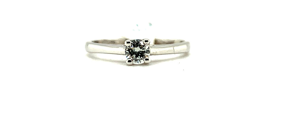 18 KT CLASSIC SOLITAIRE RING