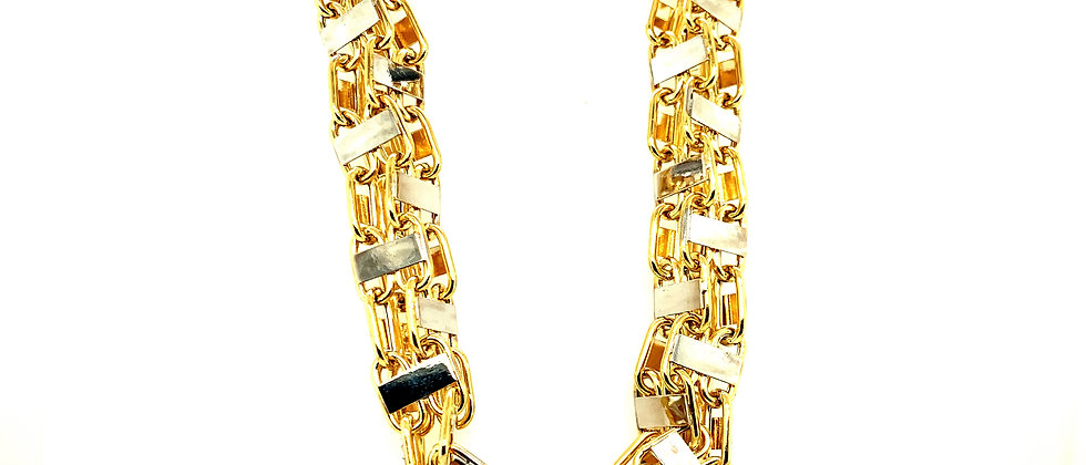 """18 KT gold """"MAGNUM"""" chain XL"""