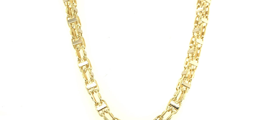 """18 KT gold """"MAGNUM"""" chain S"""