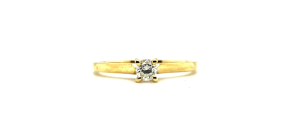 18 KT CLASSIC SOLITAIRE
