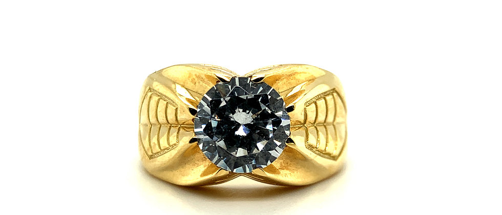 """18 KT """"SOLITAIRE"""" RING"""