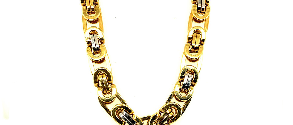 "18 KT gold ""KING"" chain L"