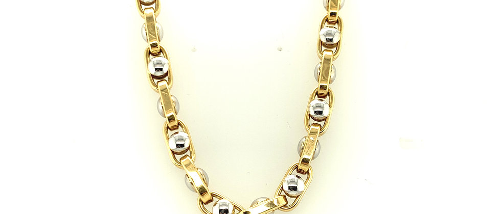 "18 KT gold ""ARMY MODIFIED""chain L"