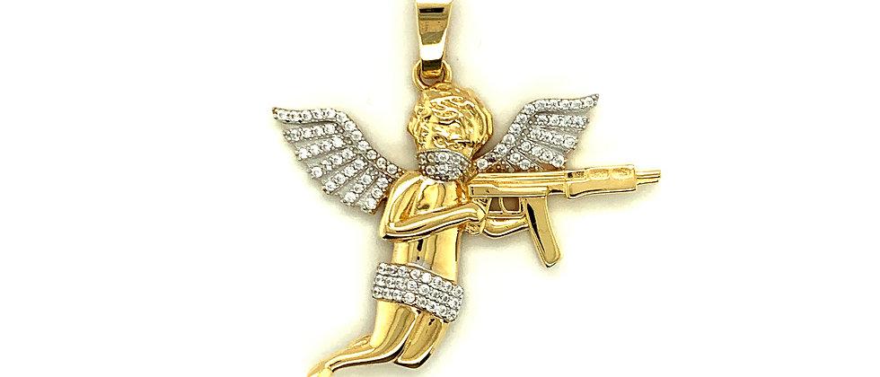 SHOOTING ANGEL PENDANT