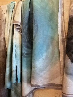 Tessuti dipinti dequoration